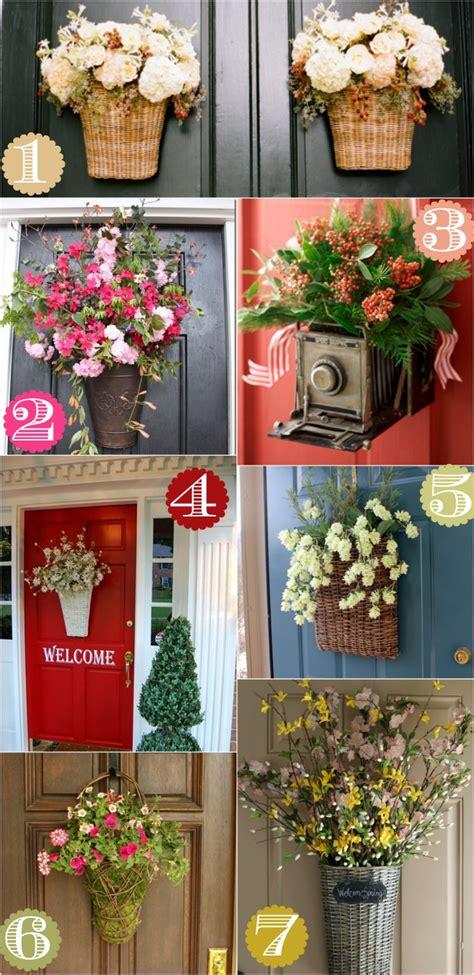 36 creative front door decor ideas wreath home