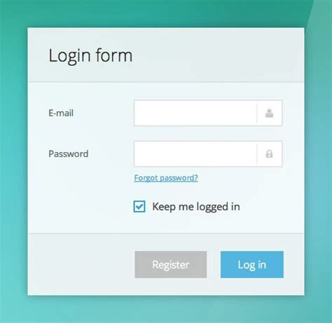 35 css3 login contact register form designs wpulti