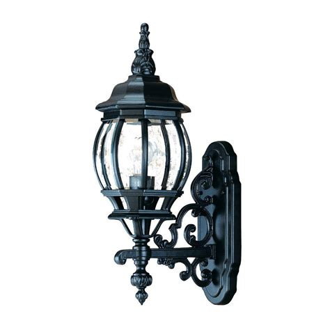 acclaim lighting chateau collection 1 light matte black