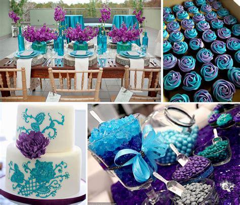 image result blue purple decor turquoise wedding decorations