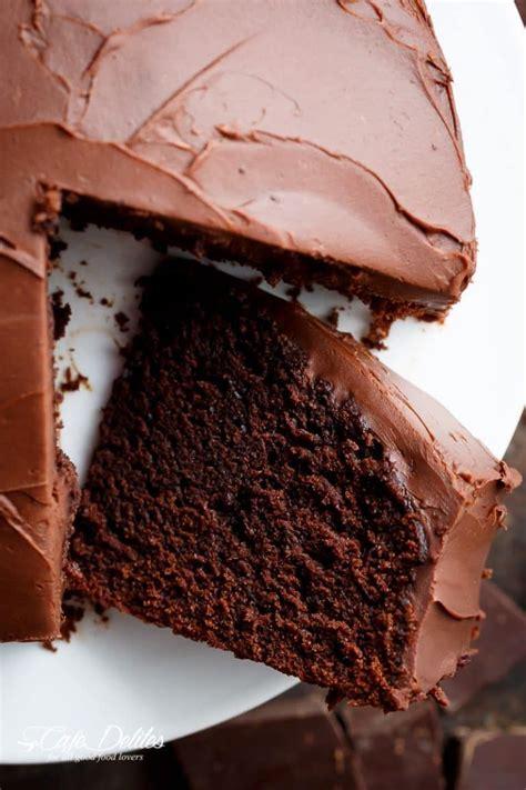 fudgy chocolate cake cafe delites amazing chocolate cake