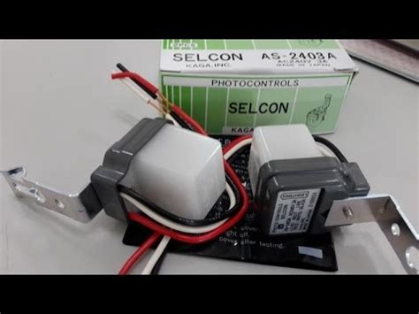 operate photo controls photocell selcon 2203a ac220v 3a