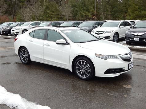certified pre owned 2015 acura tlx 3 5l