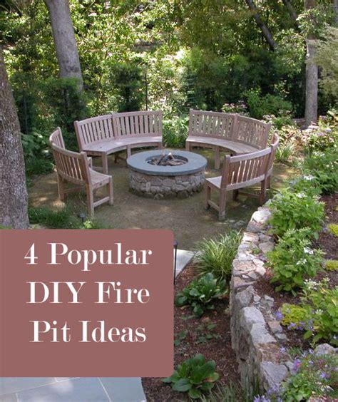 4 popular diy fire pit ideas build