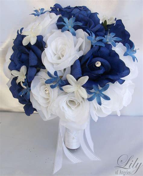 17pcs wedding bridal bride bouquet flowers decorations package