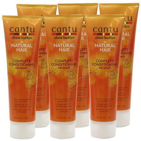 pack 6 cantu shea butter natural hair complete