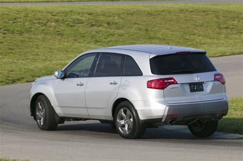 2007 acura mdx review carfax vehicle research