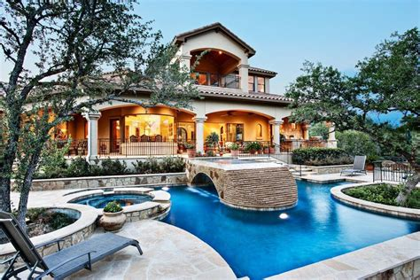 epic backyard view sterling custom home pool stone