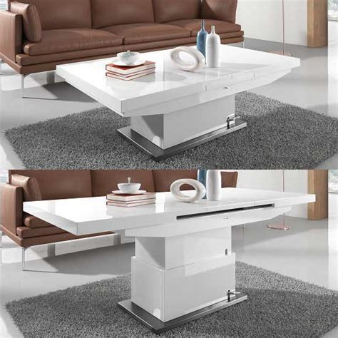 height adjustable coffee table expandable dining table