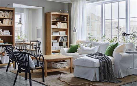 cozy white sofa easy afternoons easy cleaning ikea