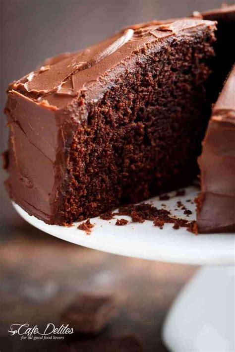 fudgy chocolate cake recipe cakes dessert 2019 chocolate