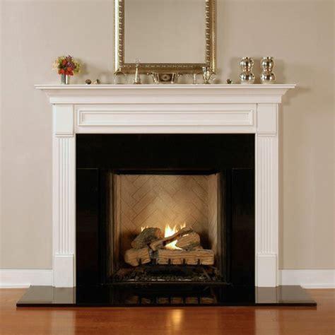 fredricksburg fireplace mantel standard sizes wood
