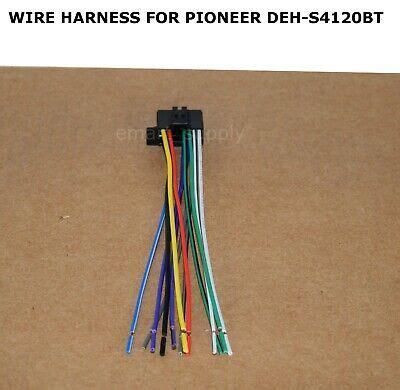 wire harness pioneer dehs4120bt deh s4120bt free fast