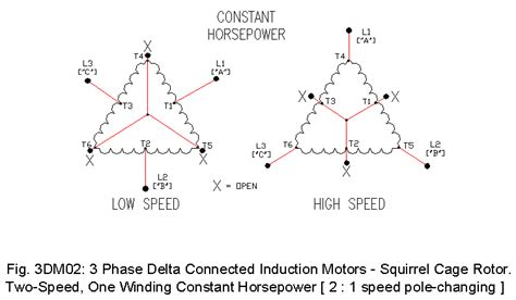 3 phase delta motor drawings 1 ecn electrical