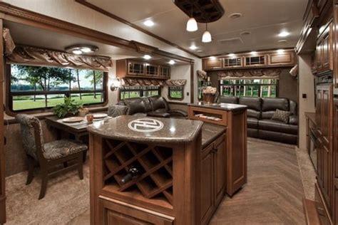 50 amazing motorhome rv trailer interiors luxury wheel