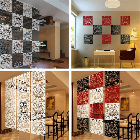 8pcs butterfly flower hanging screen curtain room divider