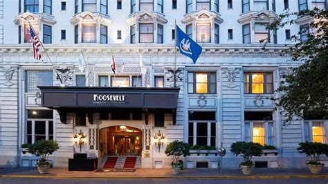 hotels orleans photo gallery roosevelt