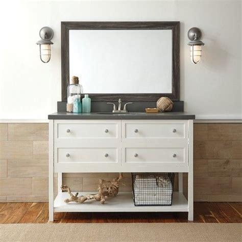 cherokee montauk driftwood frame mirror frame diy bathroom