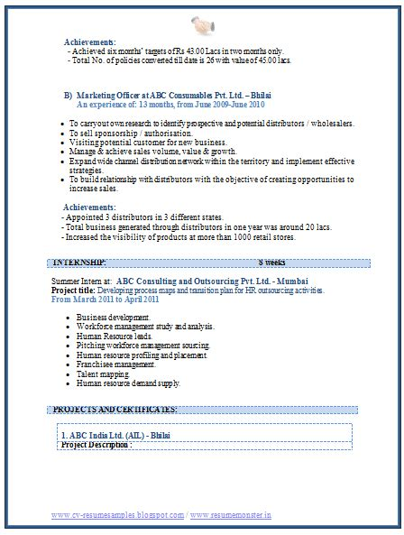 10000 cv resume sles free download mba marketing