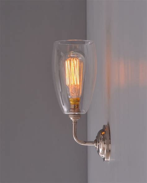 upton contemporary wall light contemporary wall lights glass