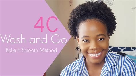 wash routine natural 4c hair twa eco styler
