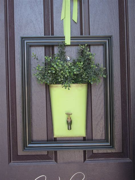 usual front door decor wreaths allowed