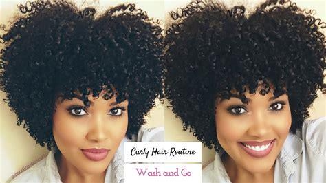 curly hair routine wash video black hair information