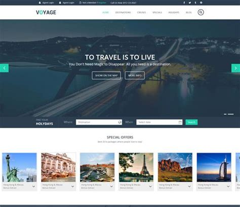 1000 images travel fun web mobile website template