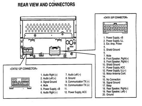 toyota radio wiring harness diagram wiring forums