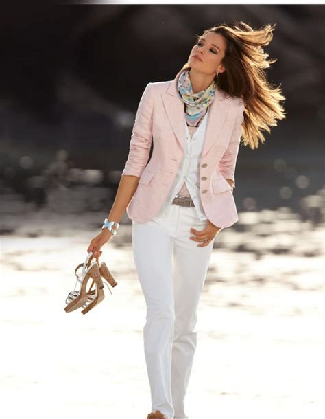spring summer woman fashion smart casual smart casual