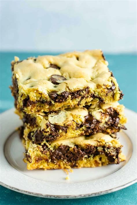 cake mix cookie bars recipe build bite