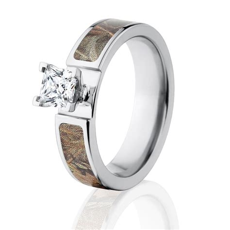 official licensed realtree max 4 engagement bands 1ct
