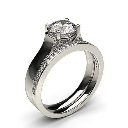 buy white gold bridal set diamond engagement ring