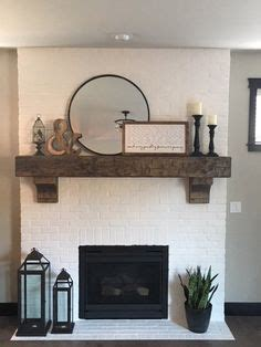 shiplap fireplace rustic mantle love coffee