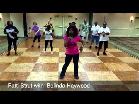 patti strut line dance step step instruction youtube