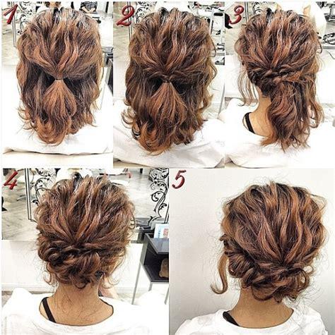 easy updos short hair simple prom hair short