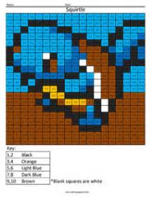 nintendo addition subtraction coloring squared