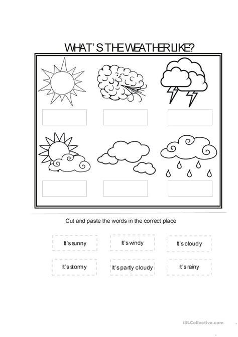 weather conditions worksheet free esl printable worksheets teachers