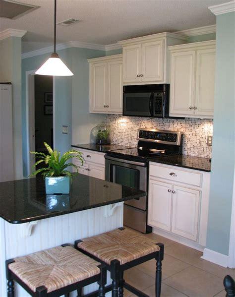 black granite countertops beige floor google search kitchen