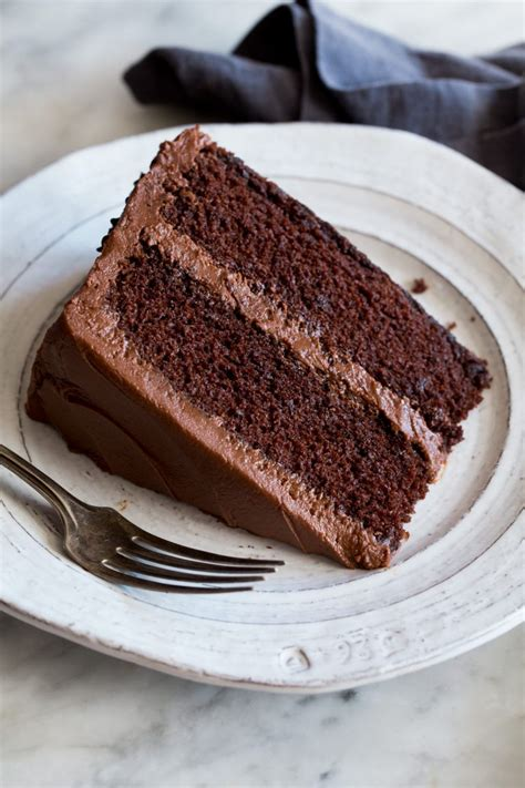 chocolate cake recipe chocolate buttercream cooking classy images