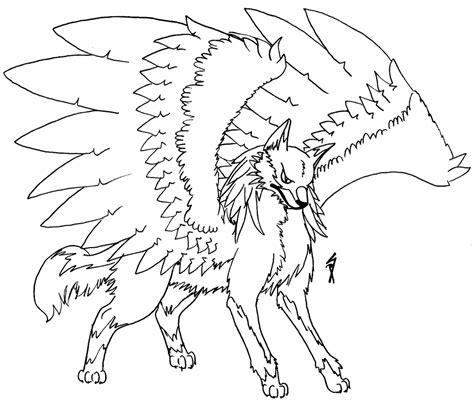 winged wolf shiny phoenix deviantart