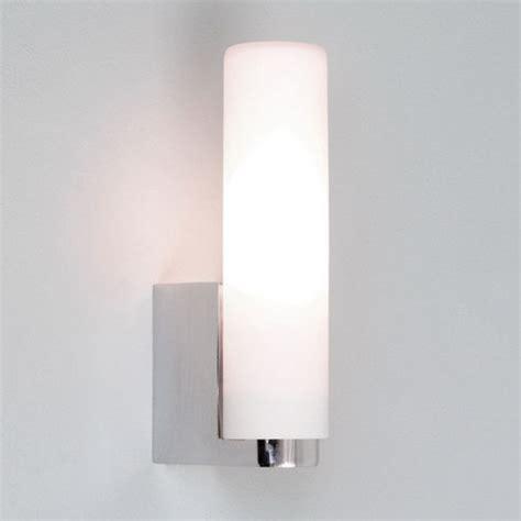 tulsa bathroom tube wall light polished chrome white