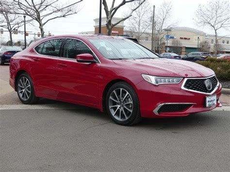 2019 acura tlx v6 fwd sale vehicle history