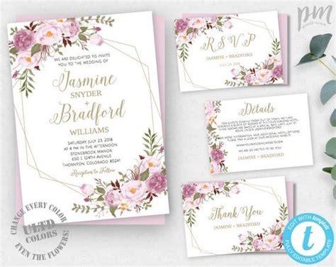 Diy Wedding Invitation Suite Templates.html