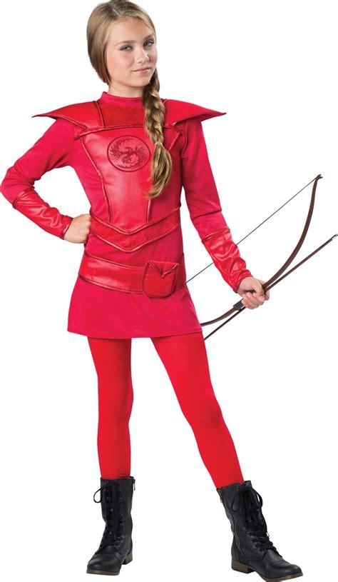 kids warrior huntress tween girls costume 29 99