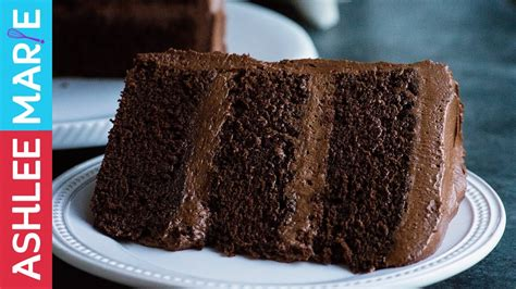 perfect chocolate cake rich dense moist cake recipe