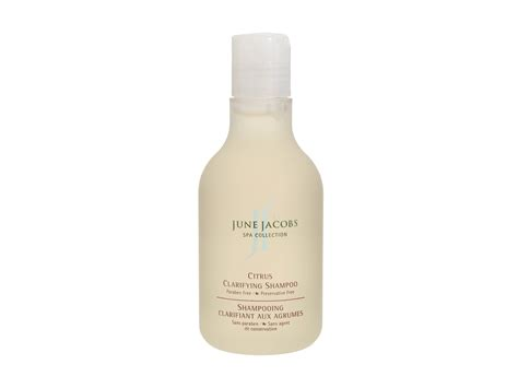 june jacobs spa collection citrus clarifying shoo color