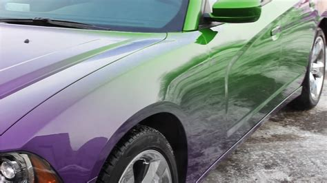 color changing car paint paramagnetic paint youtube