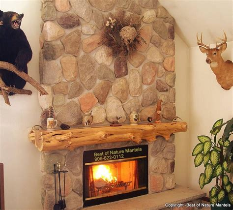 cedar mantle great room fireplace loving log