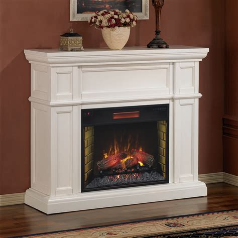 artesian 28 white electric fireplace mantel package ebay